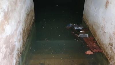 Mausoleo de los héroes del Chaco se encuentra inundado y en estado de abandono