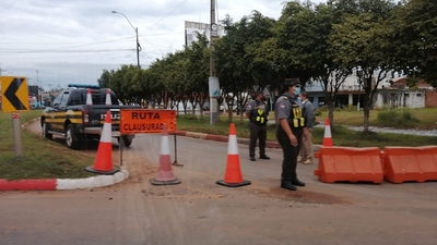 HISTÓRICO: RUTA PY02 CLAUSURADA DESDE LA ROTONDA
