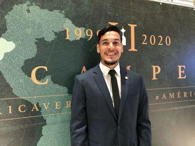 Con Gustavo Gómez a la cabeza, Palmeiras viajó a Qatar