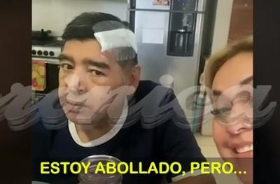 """""""Estoy abollado"""": El último video de Maradona con vida"""