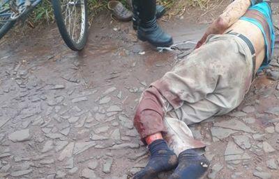 Octogenario falleció en accidente de tránsito en Pedro Juan