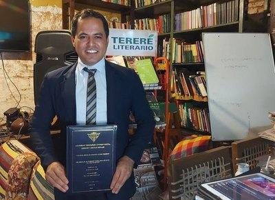 Crónica / Yuyero cumplió su sueño de ser abogado