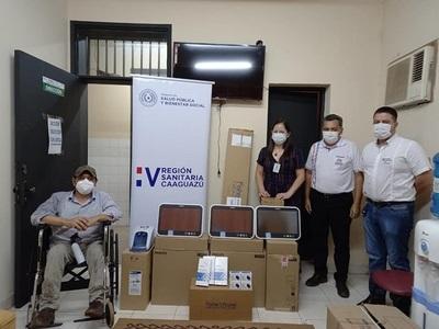 Salud Pública fortalece UTI, urgencias y salas de reanimación de Caaguazú