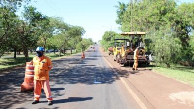 Hernandarias suma 220 cuadras asfaltadas