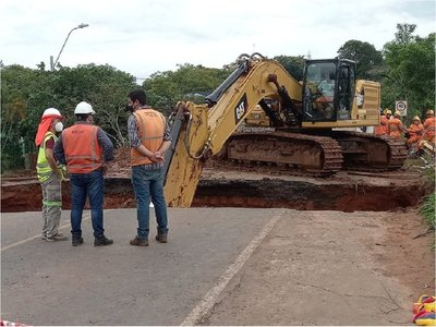 Sigue inhabilitado tramo entre Coronel Oviedo e Itacurubí