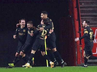 Tremenda remontada del Barcelona para acceder a semifinales