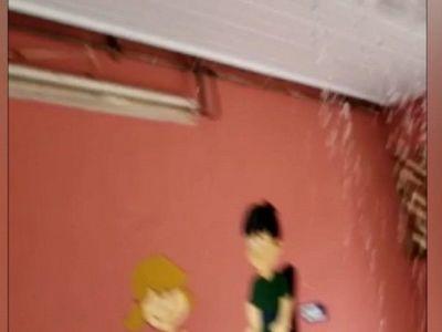 Chorros y goteras en Hospital de Caaguazú