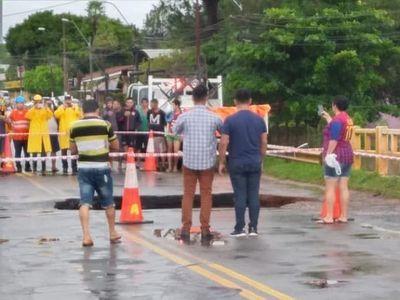 Siguen bloqueos sobre la ruta PY02 en Itacurubí