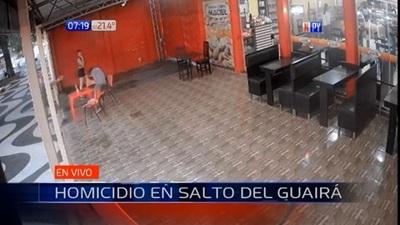 Asesinan a balazos a joven en Salto del Guairá
