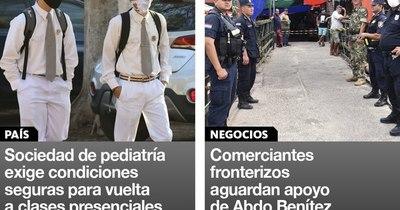 La Nación / Destacados de la mañana del 4 de febrero