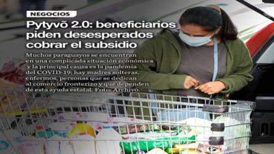 Pytyvõ 2.0: beneficiarios piden desesperados cobrar el subsidio