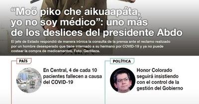La Nación / LN PM: Las noticias más relevantes de la siesta del 4 de febrero