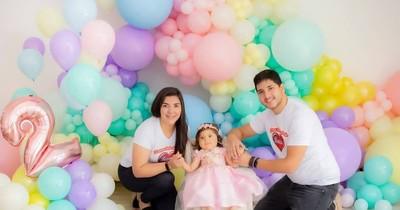 La Nación / ¡Feliz cumpleaños, Bianca! La niña con AME, que contra todo pronóstico, cumple hoy 2 años