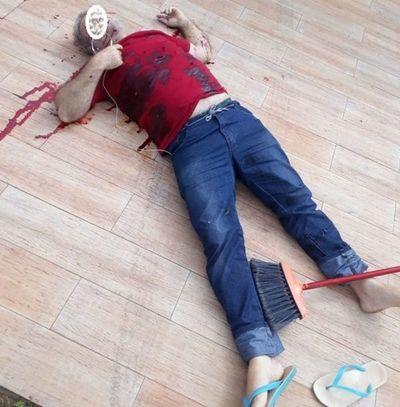 Asesinan a un hombre frente a su casa en Ponta Porã