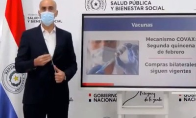 Informe epidemiológico semanal del Ministerio de Salud