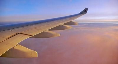 Vuelos internacionales de pasajeros caen a un récord de 75,6% en 2020 por pandemia