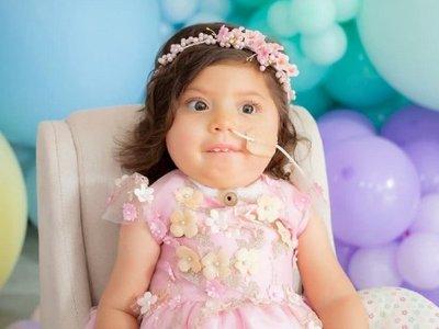 Al cumplir 2 años, Bianca es un ejemplo de fe y perseverancia