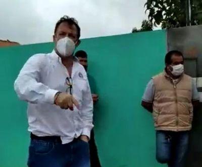 AUDIO: Exgobernador Pedro González trata de sinvergüenza bandida a una mujer en Pedro Juan Caballero
