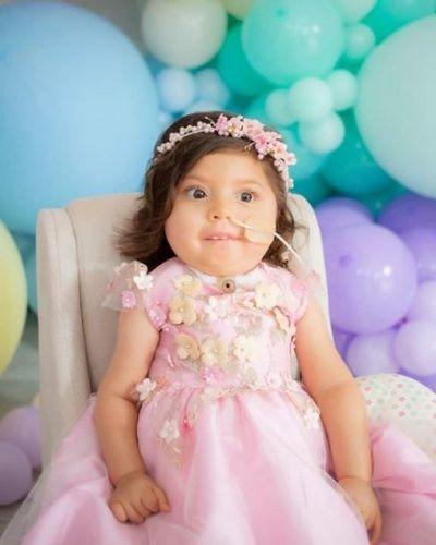 Bianca cumple 2 años y para sus padres es un logro de la fe y perseverancia