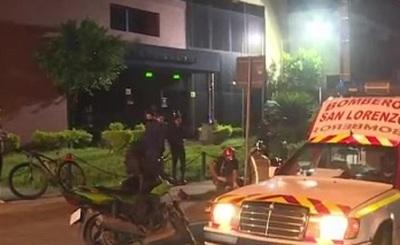 Joven murió tras chocar contra una columna en San Lorenzo
