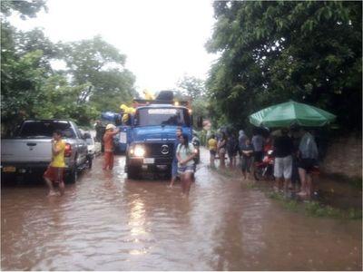 Juntan víveres en Caacupé y Tobatí para afectados por inundaciones