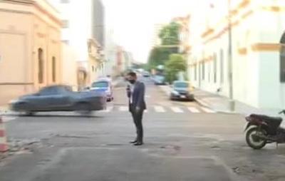 Asunción: La calle Iturbe casi Mariscal López se encuentra en pésimo estado