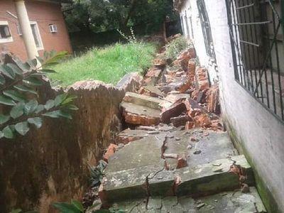 Otra víctima del temporal: abuela murió tras dos días de agonía