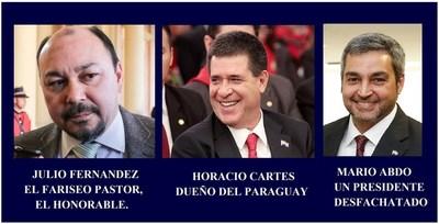 DIRECTOR DE ADUANAS OFENDE LA INTELIGENCIA DEL PARAGUAYO CON SU ACTUAR