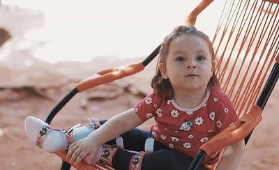 HOY / El mejor regalo: Zoe Valentina cumple dos años y recibe hoy el Zolgensma