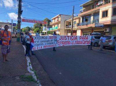 Familiares exigen esclarecimiento del crimen de abogado