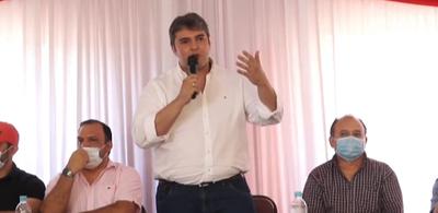 Marcos Benítez oficializa su candidatura por el MUCC