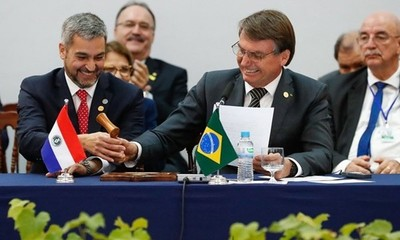 Bolsonaro anuncia reunión con Mario Abdo y otros líderes para impulsar Mercosur