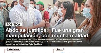 La Nación / LN PM: Las noticias más relevantes de la siesta del 5 de febrero