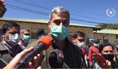 """Mario Abdo habla de una """"gran manipulación"""" en caso don Joel"""