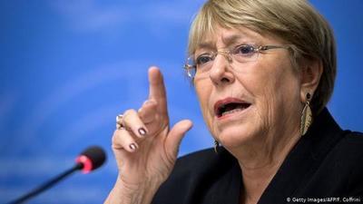 Bachelet exige al gobierno de Abdo la búsqueda de la adolescente Villalba