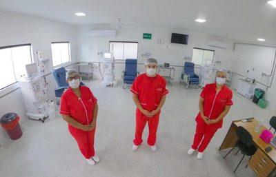 Primer servicio de hemodiálisis fue inaugurado en el hospital de Pilar