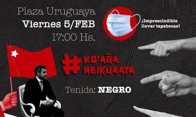 #KoagaReikuaata: ciudadanía harta se autoconvoca contra Marito
