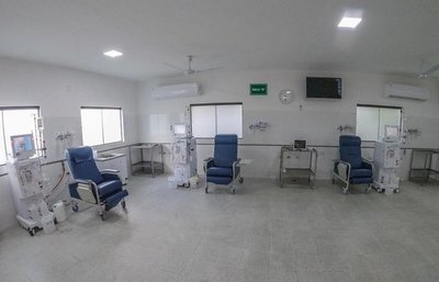 Primer servicio de hemodiálisis del Ñeembucú
