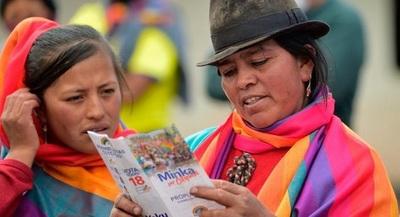 La economía está en el centro del debate político en Ecuador
