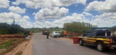 Caminera apoya en todos los frentes donde se ejecutan trabajos de emergencia vial