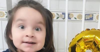 """La Nación / Zoe Valentina: """"Estamos esperanzados de que con el zolgensma mejore su calidad de vida"""", dice la mamá"""