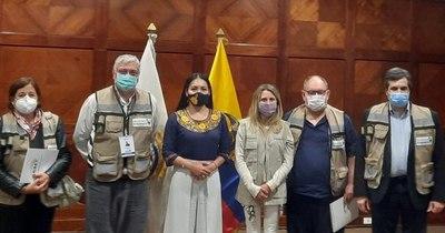 La Nación / Frente Guasu fiscaliza elecciones presidenciales en Ecuador
