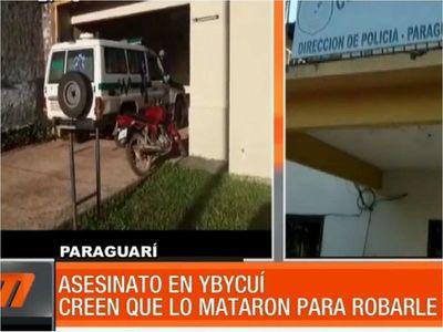 Asesinan a un hombre de una estocada en el cuello en Ybycuí