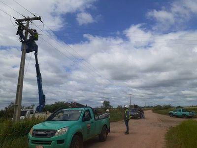 Domingo sin electricidad: zonas de Central donde habrá cortes de ANDE