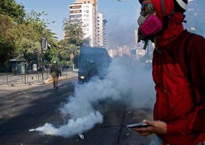 Chile: Continúan los disturbios en Chile tras la muerte de un artista a manos de un Carabinero