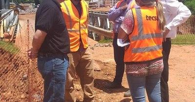 La Nación / Puntos críticos de cauces hídricos en Lambaré, San Antonio y Villa Elisa son supervisados