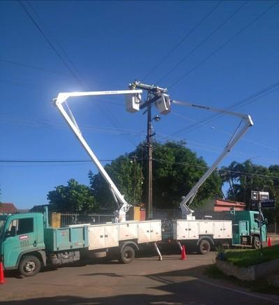 Cortes de energía en varios puntos por mantenimiento de la Ande