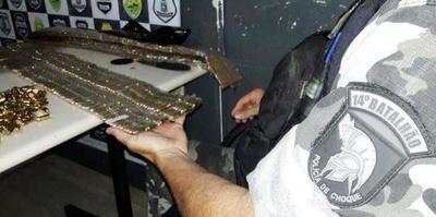 Decomisan municiones de GRUESO CALIBRE en la frontera