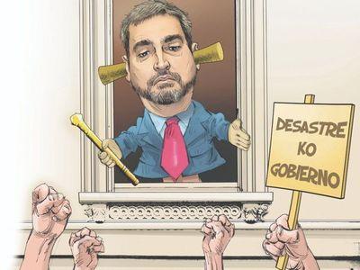"""De """"caiga quien caiga"""" a """"no soy médico"""": Las frases de Mario Abdo"""