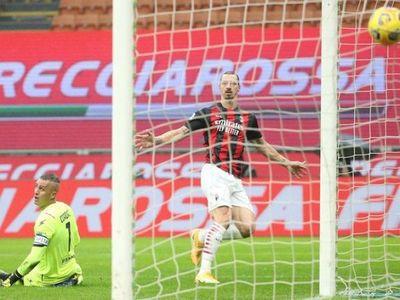 Ibrahimovic, con sus goles 500 y 501, devuelve el liderato al Milan